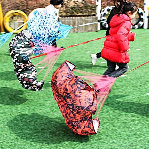 Intelligente fysieke weerstand paraplu kinderen Speed Running Sense Unified trainingsapparatuur willekeurige kleur levering
