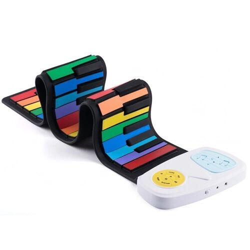 49-sleutel Hand Roll siliconen kinderen elektronische Piano