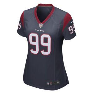 Nike NFL Houston Texans (J.J. Watt) American football-wedstrijdjersey voor dames - Blauw