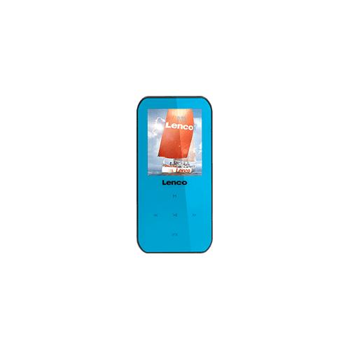 Lenco Xemio 655 MP3-, MP4-, WMA Speler 4GB Blauw