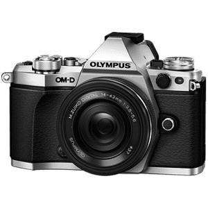 Olympus E-M5 II Pancake Zoom Kit Silver/Black