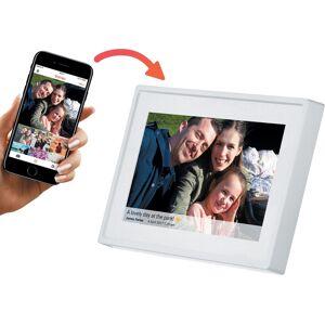 Denver PFF-711 digitale Frameo app fotolijst 7 inch wit