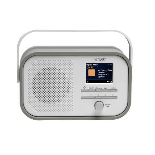 Denver DAB-40 Digital DAB Radio Grey