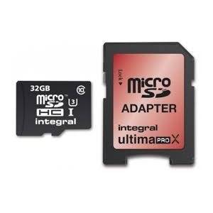 Integral Geheugen Micro SDHC 32Gb Inclusief SD-Adapter