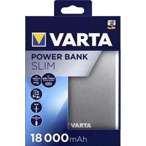 Varta Portable Powerpack Slim 18000 mAh met USB C en USB A