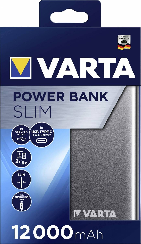 Varta Portable Powerpack Slim 12...