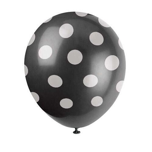 O'that Ballonnen Dot Black & White