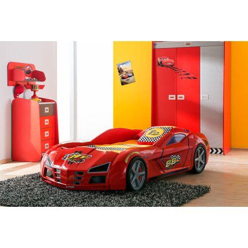 Megabed Gp Racer Autobed Rood