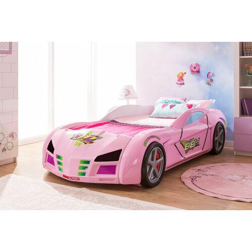 Megabed Gp Racer Autobed Roze