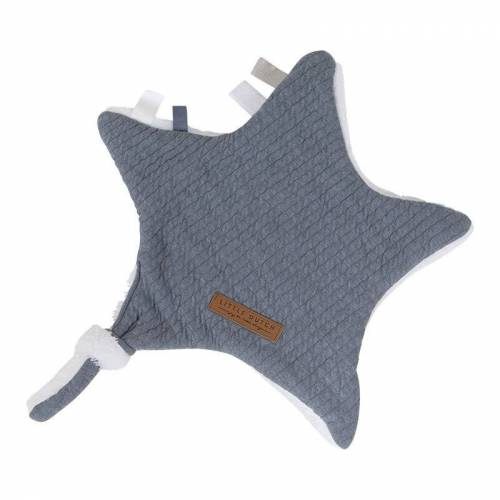 Little Dutch Knuffeldoek Ster Pure Blue