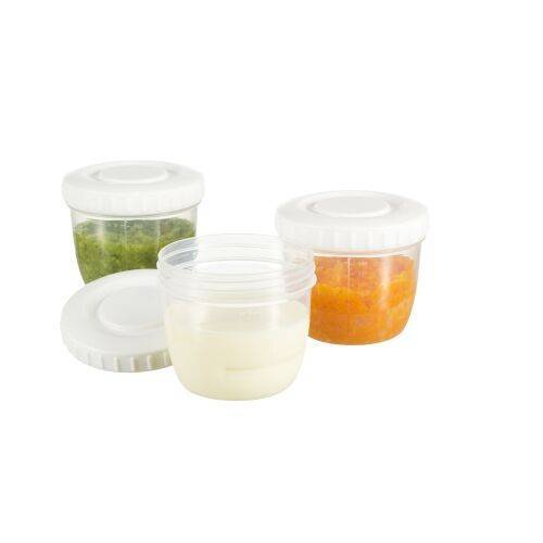 Difrax Voeding Bewaarbakjes (6 stuks)