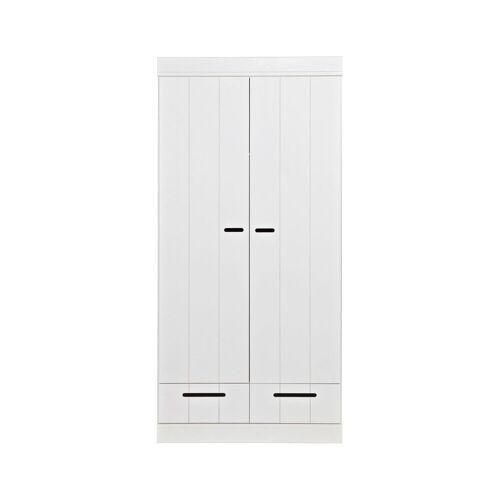 Woood Connect 2-deurskast + Lade Strokendeur