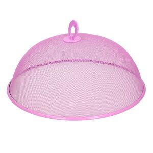 Merkloos Vliegenkap roze/paars voor voedsel 30 cm -