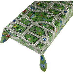 Merkloos Buiten tafelkleedtafelzeil kinder speelkleed motief 140 x 245 cm -