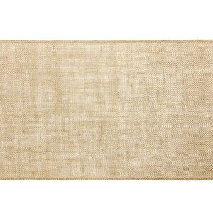 Merkloos Pakket van 3x stuks jute tafellopers 28 x 500 cm -