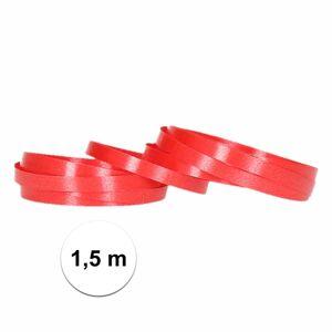 Shoppartners Ballon lintjes rood 1,5 meter - Ballonnen