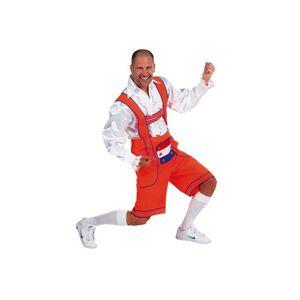 Geen Oranje Oktoberfest broek / lederhosen voor heren 60-62 (XL) - Carnavalskostuums
