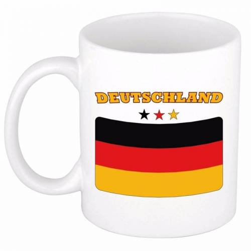 Bellatio Decorations Vlag Duitsland beker 300 ml -
