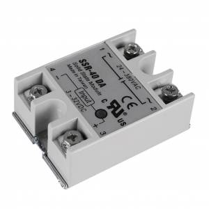 24V 40A Single Phase SSR-40 DA Solid State Relay Module For 3D Printer Parts