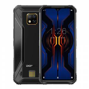 DOOGEE S95 Pro Global Bands IP68 Waterproof 6.3 inch FHD NFC Android 9.0 5150mAh 48MP AI Triple Rear Cameras 8GB RAM 128GB ROM Helio P90 Octa Core 4G Smartphone