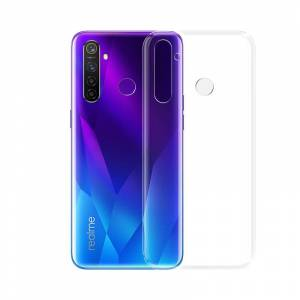 BAKEEY Crystal Clear Transparent Ultra-thin Soft TPU Protective Case for Realme 5 Pro