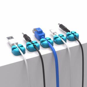 ORICO CBSX Desktop Cable Organizer Headphone Cable Winder Management For iPhone 8 Plus XS 11 Pro Huawei P30 Mate 30 Xiaomi Mi9 9Pro