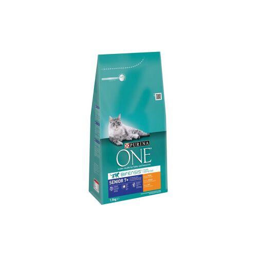 Purina One Senior Kip Volkoren Granen kattenvoer 3 kg