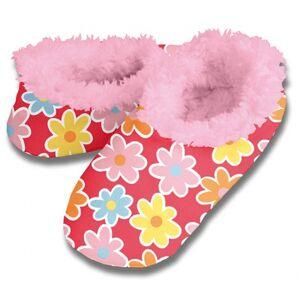 Geen Zachte winter pantoffels bloemen print