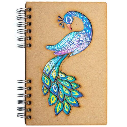 Notebook MDF 3d kaft A6 blanco - Pauw-