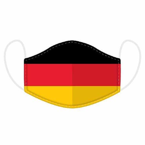 Mondkapje - Duitse vlag-