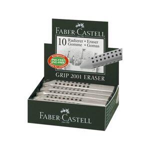 Faber Castell gum Faber Castell GRIP 2001 grijs
