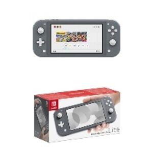 Nintendo Switch Lite (Grijs), (Nintendo Switch). SWITCH