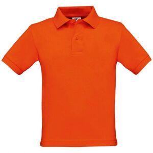 B&C Jongens polo oranje
