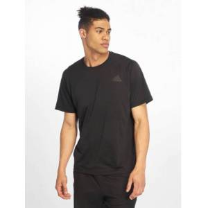 adidas Performance / t-shirt FL_SPR in zwart  - Heren - Zwart - Grootte: Small