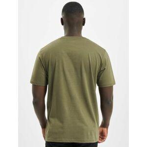 Dickies / t-shirt Stockdale in olijfgroen  - Heren - Olijfgroen - Grootte: Extra Small