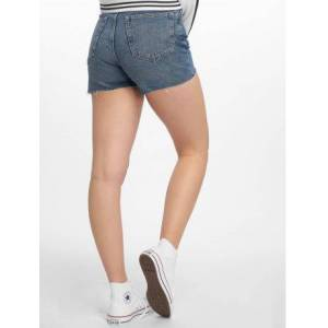 Cheap Monday / shorts Donna Norm Core in blauw  - Dames - Blauw - Grootte: W 28