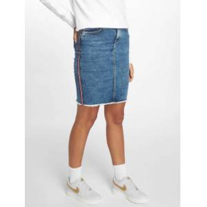 Only / Rok onlEmilie in blauw  - Dames - Blauw - Grootte: Extra Small