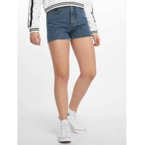 Cheap Monday / shorts Donna Norm Core in blauw  - Dames - Blauw - Grootte: W 29