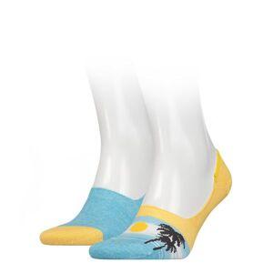 Levi's 2-pack unisex lage sokken - zonsondergang
