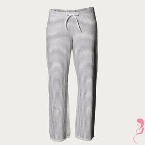 Boob zwangerschaps pyjamabroek grijs met wit gestreept