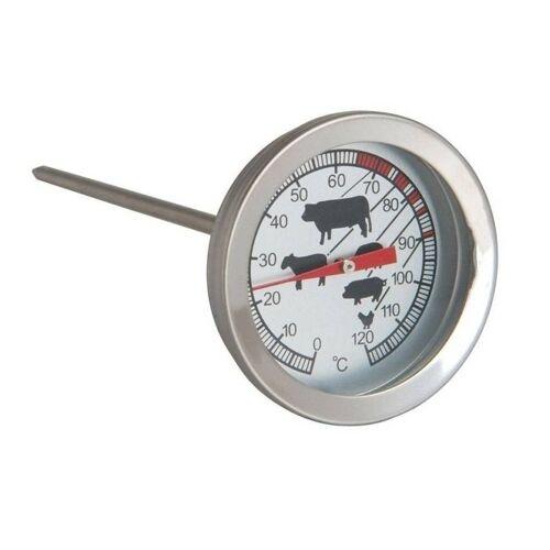 Ben Tools Analoge vleesthermometer / keuken thermometer RVS