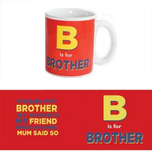 123 Kado koffiemokken Broer thee mok 300 ml