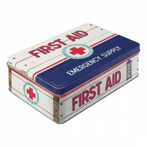 Merkloos Potloden doos/box First Aid