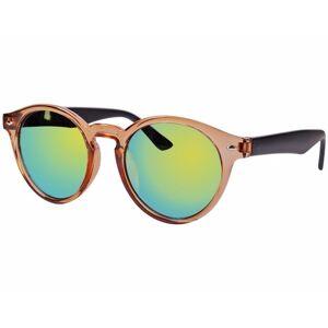 Bernardino Clubmaster dames zonnebril bruin model 7002