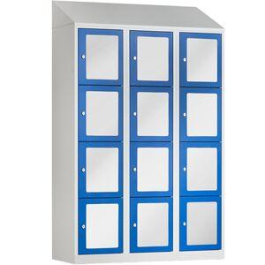BASIC Locker met 12 doorzichtige deuren