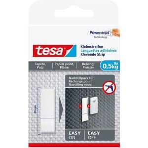 Tesa 9x Powerstrips zelfklevend voor behang en pleisterwerk Tesa