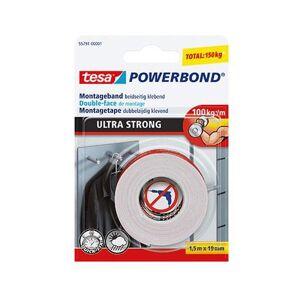 Tesa Powerbond montagetape 19 mm x 1,5 m