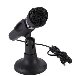 SHZONS Microfoon voor Computer Bedrade Handheld Professionele Mic Condensator Microfoon met Microfoon Houder/Stand Voor PC Computer