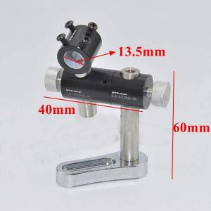 nieuw 13,5 mm verstelbare laserpointermodulehouder Klem drie assen