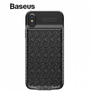Baseus Battery Charger Case 3500 mah Powerbank Voor iPhone X Charing Case Mobiel Externe Pack Backup Charger Case Voor iPhone X - Wit